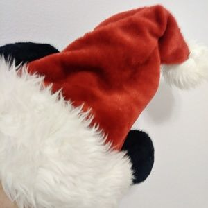 Disney Adult Mickey Santa Hat